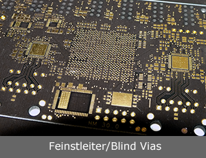 Feinstleiter / Blind Vias