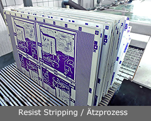 Resist Stripping / Aetzprozess